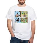 Tarzan Swinging White T-Shirt
