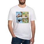 Tarzan Swinging Fitted T-Shirt