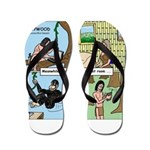 Tarzan Swinging Flip Flops