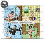 Tarzan Swinging Puzzle
