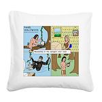 Tarzan Swinging Square Canvas Pillow