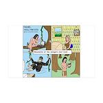 Tarzan Swinging 35x21 Wall Decal
