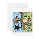 Tarzan Swinging Greeting Cards (Pk of 10)