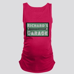 Personalized Garage Maternity Tank Top