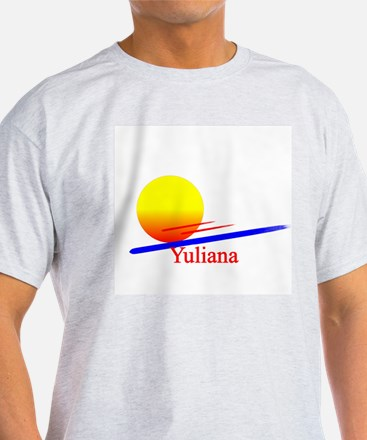 Yuliana Ash Grey T-Shirt