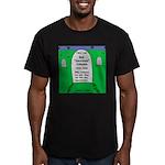 RIP Socrates Men's Fitted T-Shirt (dark)
