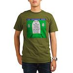 RIP Socrates Organic Men's T-Shirt (dark)