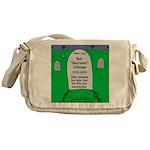 RIP Socrates Messenger Bag
