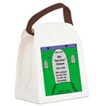 RIP Socrates Canvas Lunch Bag
