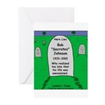 RIP Socrates Greeting Cards (Pk of 10)