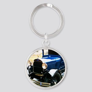 Dads A Round Keychain