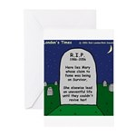RIP Mary Greeting Cards (Pk of 20)