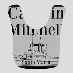 Personalized captain fishing boat Bib