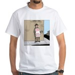 Modern Bum White T-Shirt