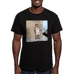 Modern Bum Men's Fitted T-Shirt (dark)
