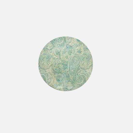 iPad-Jade Paisley Mini Button