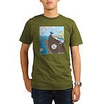 Noah and Moses Organic Men's T-Shirt (dark)
