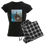 Noah and Moses Women's Dark Pajamas