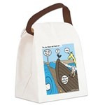 Noah and Moses Canvas Lunch Bag