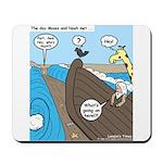 Noah and Moses Mousepad