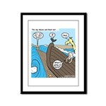 Noah and Moses Framed Panel Print