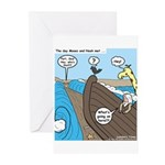 Noah and Moses Greeting Cards (Pk of 10)