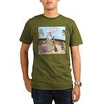 Noah as Janitor Organic Men's T-Shirt (dark)