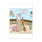 Noah as Janitor Mini Poster Print