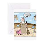 Noah as Janitor Greeting Cards (Pk of 10)