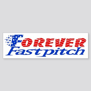 Forever Fastpitch Logo alone big Sticker (Bumper)