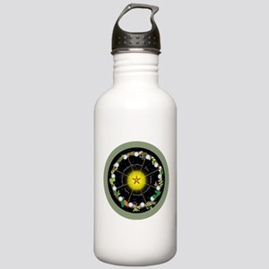 Wheel of the Year in Holidays Water Bottle