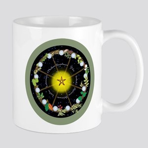 Wheel of the Year in Holidays Mugs
