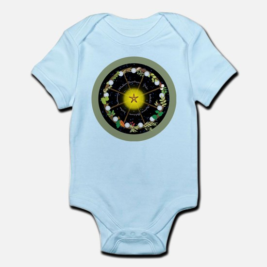 Wheel of the Year in Holidays Body Suit