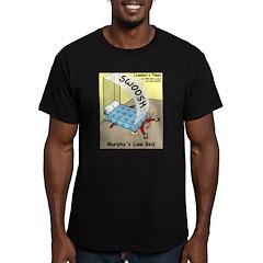 Murphys Law Bed Men's Fitted T-Shirt (dark)