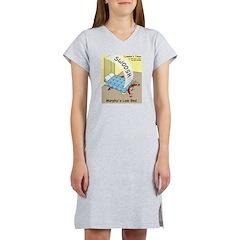 Murphys Law Bed Women's Nightshirt