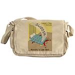 Murphys Law Bed Messenger Bag