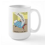 Murphys Law Bed Large Mug