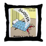 Murphys Law Bed Throw Pillow