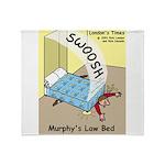 Murphys Law Bed Throw Blanket