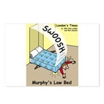 Murphys Law Bed Postcards (Package of 8)