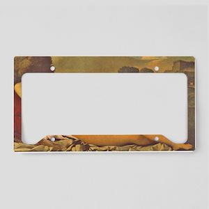 RubinoCafepress License Plate Holder