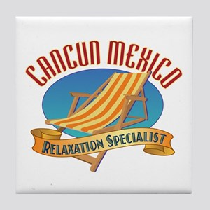 Cancun Relax - Tile Coaster