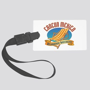 Cancun Relax - Large Luggage Tag