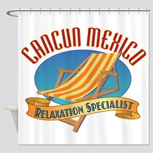 Cancun Relax - Shower Curtain