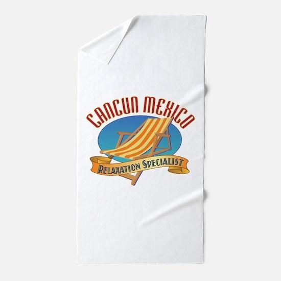 Cancun Relax - Beach Towel