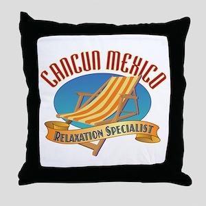 Cancun Relax - Throw Pillow