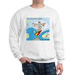 Moses Showing Off Sweatshirt