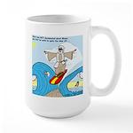 Moses Showing Off Large Mug