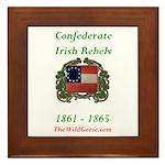 Confederate Irish Framed Tile