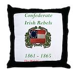 Confederate Irish Throw Pillow